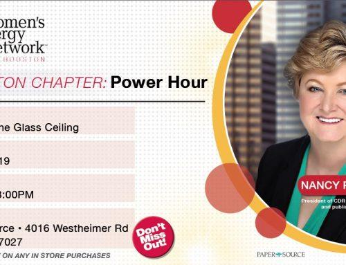 Parsons to Speak at WEN Houston Power Hour
